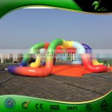 Giant Fashion Inflatable Rainbow Tent For Trade Show