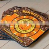 """Luck Of The Irish"" Personalized Old Irish Pub Coasters"