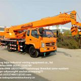 Manufacturers Direct sales 12 tons Foton car crane