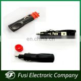 ABS Car cigarette lighter connector,car cigarette lighter with red head