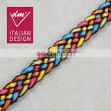 New style colorful braided ribbon