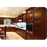 Solid Wood American Kitchen Cabinet LW-AK003