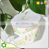 SHECAN 22mm 7/8 size Music-note printed grosgrain ribbon