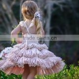 Baby Girl Dress, Baby Girl Clothes, 3 Ruffles Little girls special occassion wedding dress