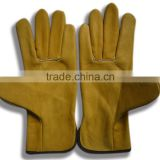cow grain leather machinist working gloves for freezer