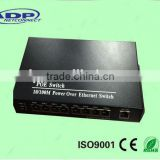 8 Port POE switch 10/100M POE managed optical fiber ethernet switch