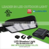 led shoe box light, 240w UL led parking lot light, black led parking lot light from Shenzhen manufacture