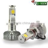 New style 2000lm the best replacement for HID kit : H4 H7 H8 H9 H10 H11 9005 9006 creechip car led head light 6000K