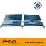 400L air source All in one indoor heat pump, enamel tank solar water heater