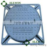 c250 telecom cast iron manhole cover