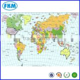 professional cheap custom Poster Printing / Print World Map / Commercial Printing / Customized prints