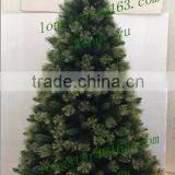 Wholesale christmas decorative,Flocked Snowing PVC Artificial Christmas trees with 9 sizes