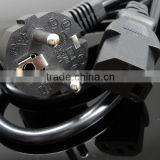 Reliable High Quality 16A 250V Germany plug power cord/VDE elecrical power cord/Germany salt lamp power cord