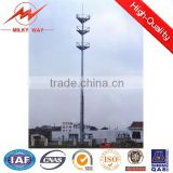 new tapered telescopic cctv camera mast pole for Africa 35m