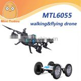 Minitudou racing drone MTL6055 with Light and 0.3/2MP camera walking&flying car drone