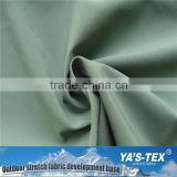 Wholesale Bamboo Fiber Polyester Stretch Fabric with PU Coated