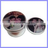 6 Shape Option Printing Available Wedding Gift Candy Box Custom Tin Box