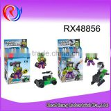 New DIY action figure robot model toy plastic toy for kids