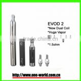2014 crazy selling !!! kanger upgraded dual coil evod 2 kit factory low price