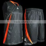 Basketball uniform black