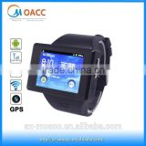 Multifunction Touch Screen watch phone wifi gps,android wifi watch phone