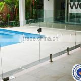 Factory made balustrade tempered glass
