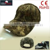 hot sell camouflage green mossy oak LED light up hats