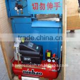 Automatic mesh scourer making machine(one head and double head)