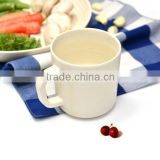 Alibaba china supplier bamboo fibre customized cup with handle,tableware,copy ceramic&melamine water&coffee mug