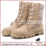 2014 high quality leather military desert boots