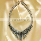 Brand crystal necklace choker vintage necklace for woman statement fashion jewelry wholesale