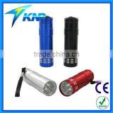 Ultra Bright Heavy Duty 9 LED Aluminum Flashlight aluminum flash light                                                                         Quality Choice