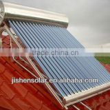 Safe Clean and Energy Saving Heat Pipe Solar Water Heate with Three Target Vacuum Tubes from Haining