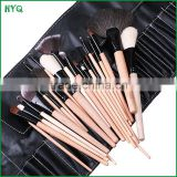 24 pcs Professional Make up Brush Set with Black Leather Case Makup brush