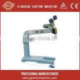 Double pieces semi-auto stitcher/stitching machine for corrugated box marking machine/carton marking