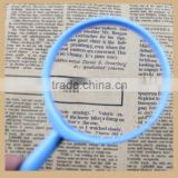New Design Acrylic Hand Held Magnifying Lens