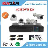 "Home, Store, Factory Security H.264 4CH DVR Combo CCTV Camera Kit ""DIY"" you security camera kit Available"