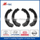 Good Hino brake shoe 04494-26030 lining used for Toyota Hilux