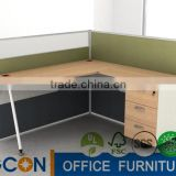 office furniture workstation wood office partition with low screen