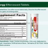 Energy Effervescent Tablet