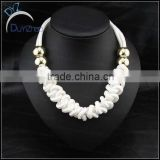 wholesale Cotton Rope Knot Handmade white Necklace