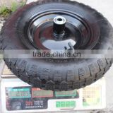 rubber wheels for wheel barrow tire 4.80/4.00-8