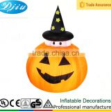 DJ-167 4ft up and down moving pumpkin decoration inflatable halloween