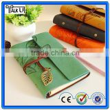 Top quality promotion cheap custom european stytle leather notebook, a4 size agenda leaf composition leather notebook