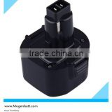 Ni-MH 9.6 V power tool battery DE9061 New 9.6V NI-MH Power Tool Rechargeable for Dewalt DE9036 Ni-MH Battery for Dewalt