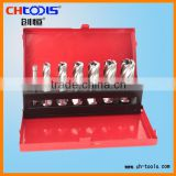 HSS broach cutter sets from CHTOOLS(6pcs cutter and a pin)