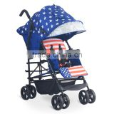 New European Style Fasion Twin Tandem Baby Stroller