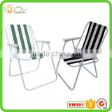 2016 strong and popular metal frame leisure folding material garden metal frame folding chairs