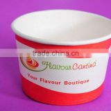 Soup/food container paper bowl 400ML,paper salad bowl,yogurt paper bowl,ice cream paper bowl