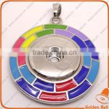 CJ2078 China Hot selling New design high quality button,snaps for jewelry,pendant snap button charm necklace
